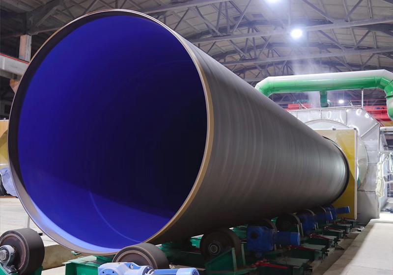 钢管外聚乙烯3PE、内环氧粉末(FBE)亚博竞猜